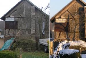 Westseite Backhaus vor dem Umbau 2010